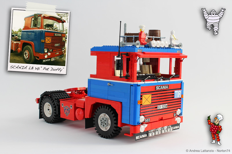 "SCANIA LB 141 ""PAT DUFFY"" presented by Bibendum & Flipje"