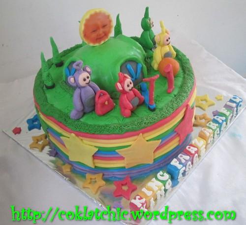 Cake Teletubbies