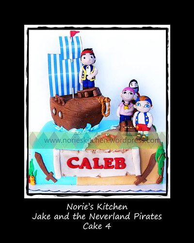 Norie's Kitchen - Jake and The Neverland Pirates Cake 4 by Norie's Kitchen