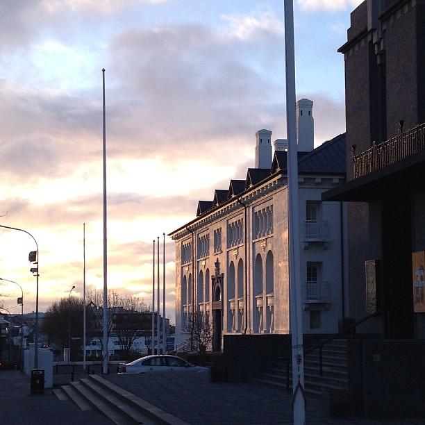 Vorkvöld í Reykjavík? #nofilter