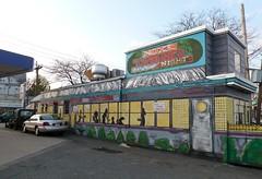 Diner mural - April 26 / Day 116