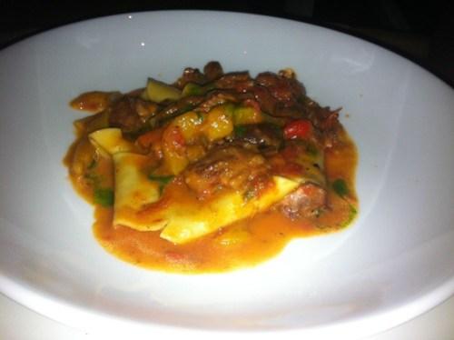 Lamb Wagyu pasta