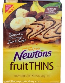 Banana Drizzled With Dark Fudge Newtons Fruit Thins