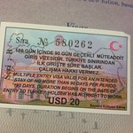 Turkish Visa by Kay Steiger