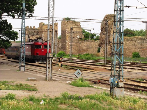 Smederevo Fortress & Train