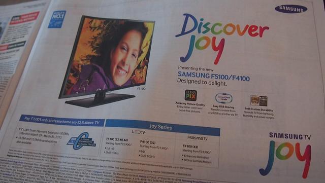 Samsung TV Joy