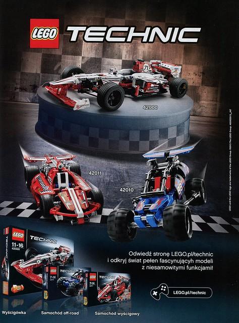 LEGO technic reklama PL