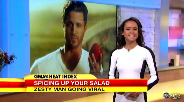 getting zesty on Good Morning America