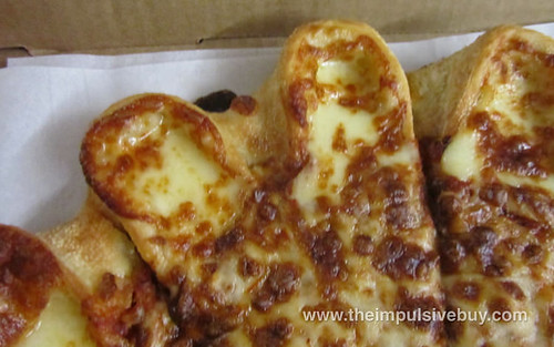 Pizza Hut Crazy Cheesy Crust Pizza Pocket