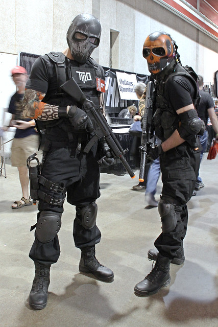 Salem and Rios from Army of Two at Calgary Comic and Entertainment Expo