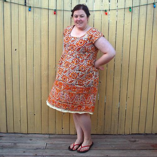 Washi Dress V2 side