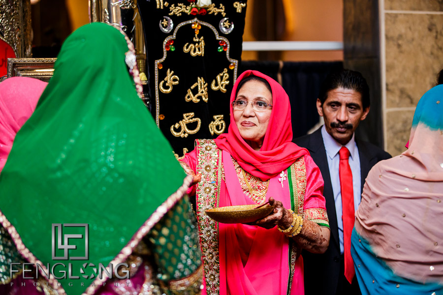 Muslim Indian wedding ritual