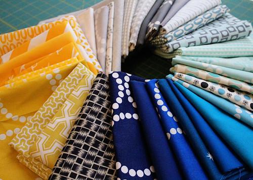 Quilts for Boston Color Scheme