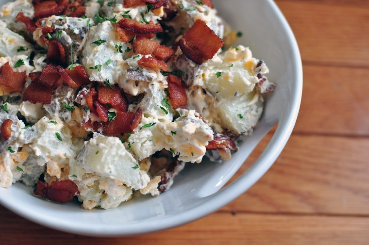 Loaded Baked Potato Salad 2