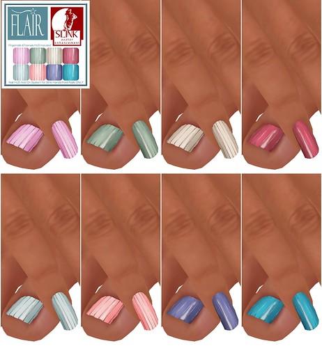 Flair - Nails Set 30