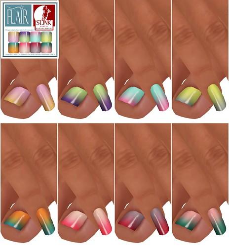 Flair - Nails Set 31