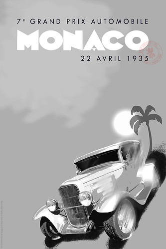 Vintage Race Poster 01