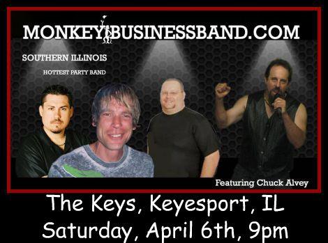 Monkey Business Featuring Chuck Alvey 4-6-13