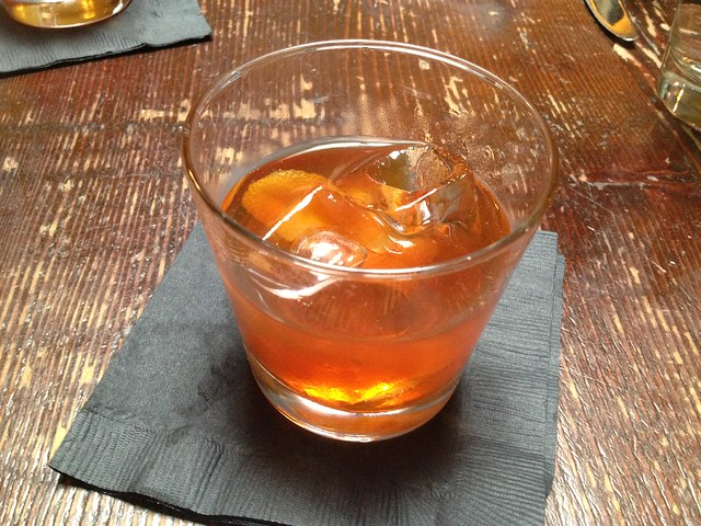 Bourbon old-fashioned - The Alembic