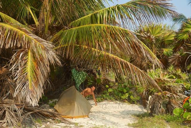 naturist 0010 Sian Kaan beach, Quintana Roo, Mexico