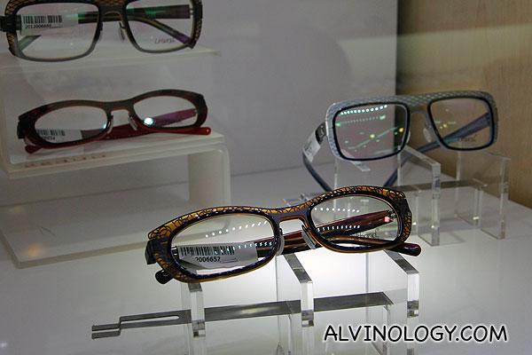 Assorted eyewear from Urband