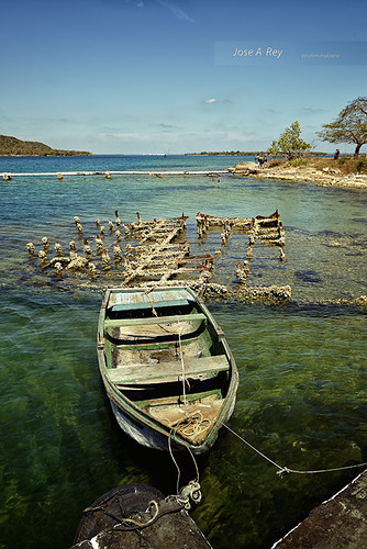 Low tide...Cienfuegos by Rey Cuba