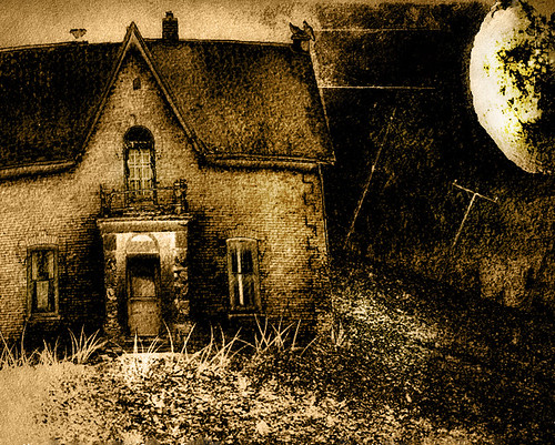 House at the End of the Lane   by jumpinjimmyjava