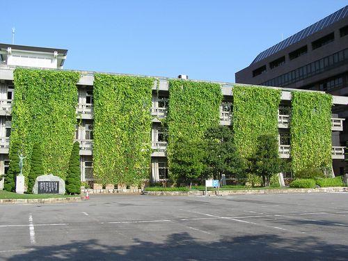 Cortinas verdes para un edificio más ecológico