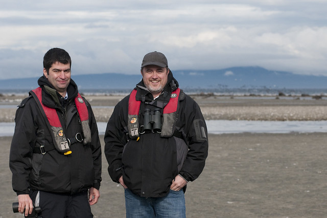 Jasper and Tim (NatureTrust of BC)