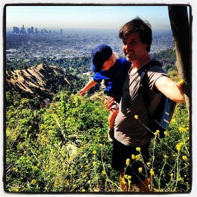Paul and Cian at Dante's View