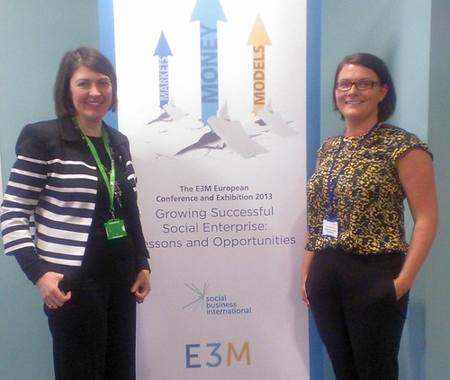 LEYF CEO and Finance attend E3M Social Enterprise event