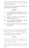 DU SOL B.Com. Programme Question Paper - Human Resource Management - Paper XVI