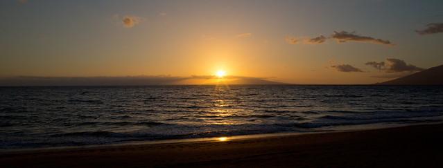 Mokapu Beach Sunset Hawaii