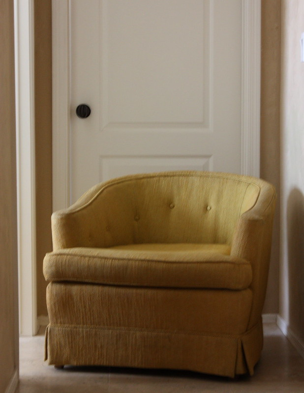 Vintage Tufted Chair