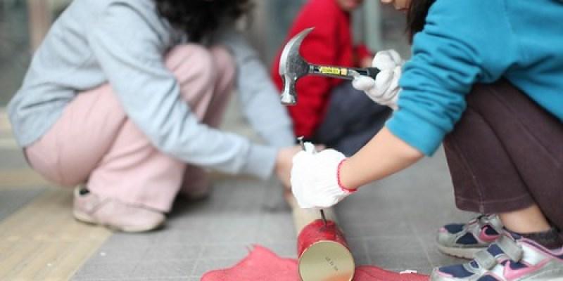 【村裡的孩子4】《帕拉帕拉山的妖怪》。鐵罐打釘做燈籠