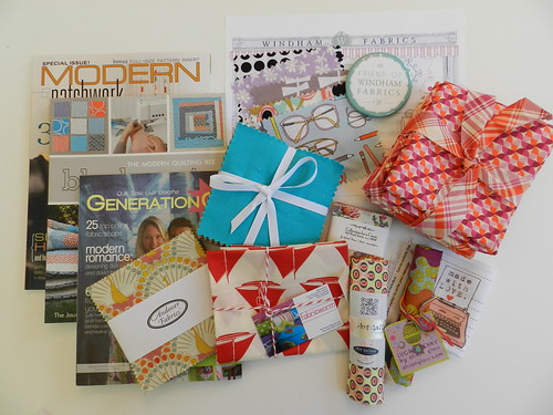 Sew South Swag Bag Contents Part 1