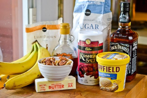 Brown Sugar Banana Parfaits with Maple-Glazed Pecans-1