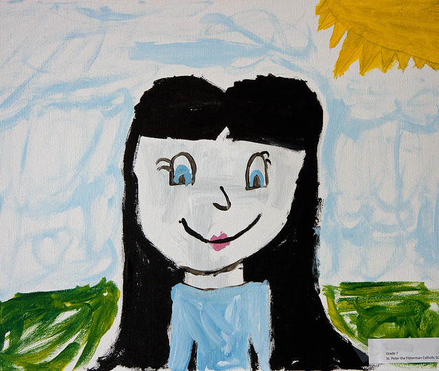 Grade 7 Canvas Painting
