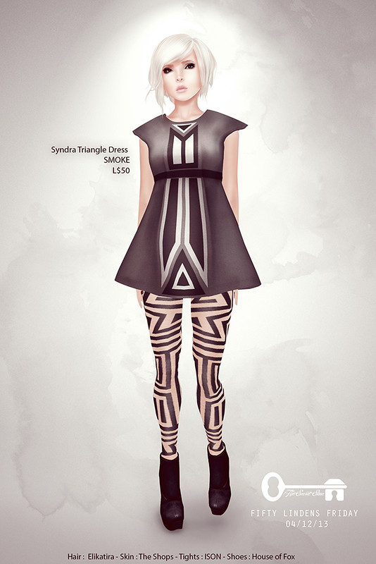 Syndra Triangle Dress for FLF