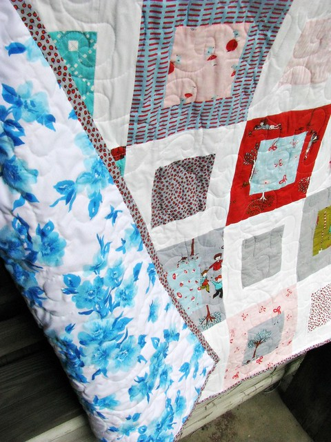 Grandma Tell Me a Story Quilt Backing