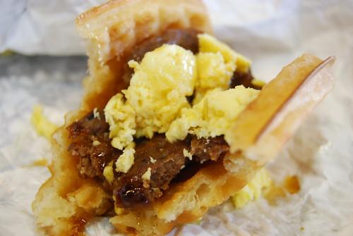 Waffle Taco bite