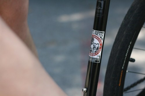 Mark Ritz's bike