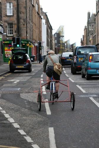 Skeleton bike trailer