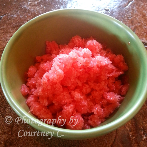 Strawberry Pińa Coloda Granita