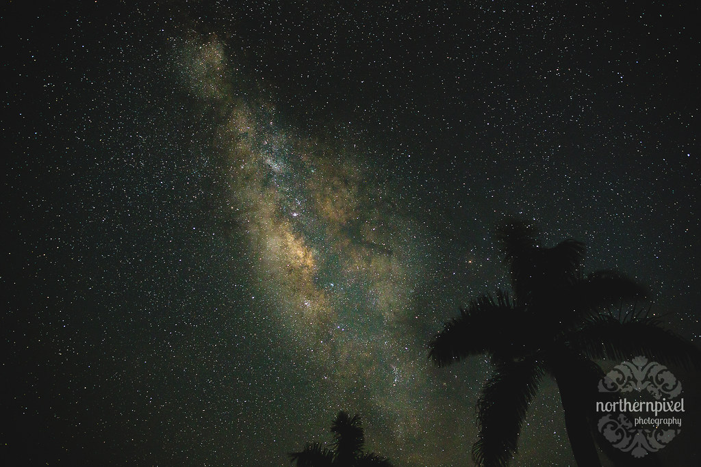 The Milky Way Night Sky Maui
