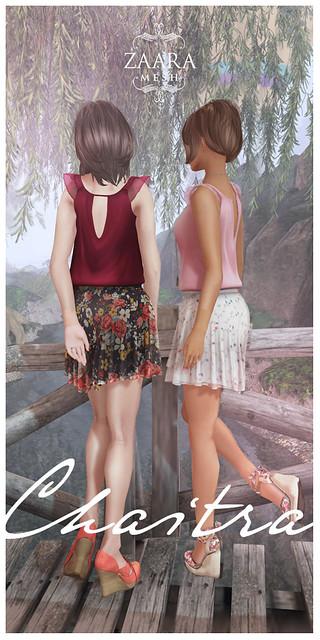 Zaara : Chaitra chiffon dresses