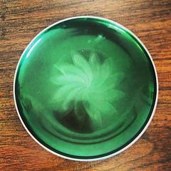 Olden Design Green Plate.