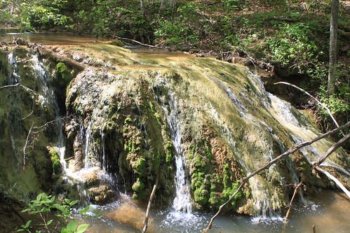 Falls Ridge 2013 - Small Mossy Falls (Close)