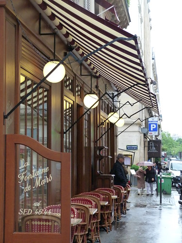 Café Stripes and Lights