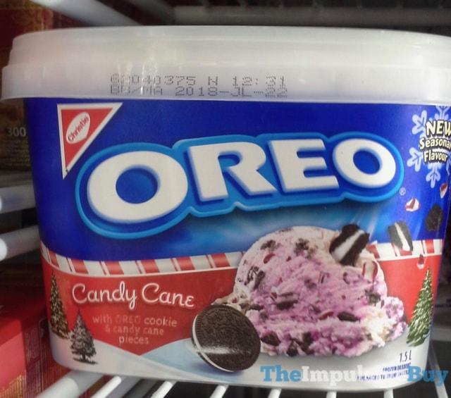 Christie Oreo Candy Cane Frozen Dessert